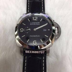 Luminor Panerai Marina Steel Swiss ETA 2250 Valjoux Movement Automatic Watch