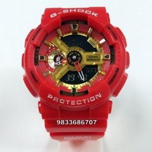 Casio GShock Marvel Edition Red Watch