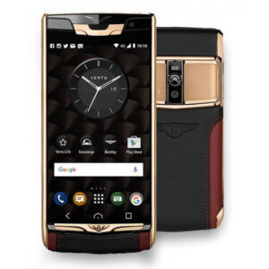 Vertu Signature Touch For Bently Red Gold