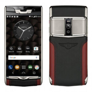 Vertu Signature Touch For Bently Silver