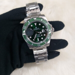 Rolex Submariner Steel Green Dial Swiss Automatic Watch
