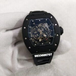 Richard Mille RM 055 Full Black Swiss ETA Automatic Watch