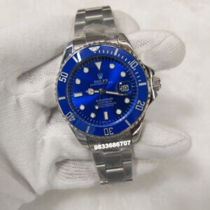 Rolex Submariner Steel Blue Dial Swiss Automatic Watch