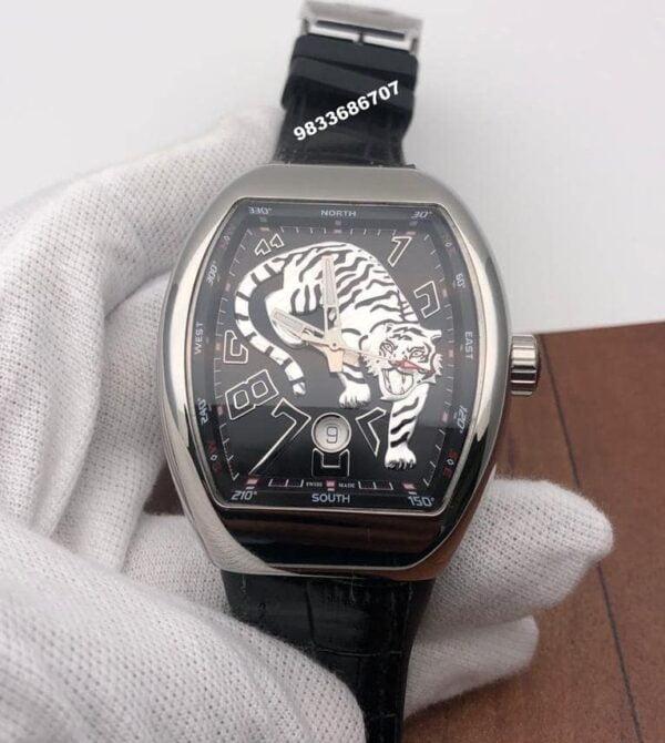 Franck Muller Vanguard Tiger Limited Edition Swiss ETA Automatic Watch
