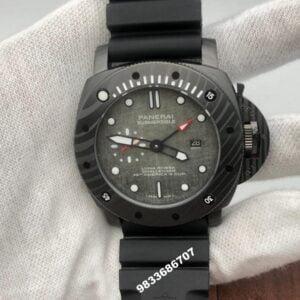 Luminor Panerai Submersible Grey Dial Swiss Automatic Men's Watch