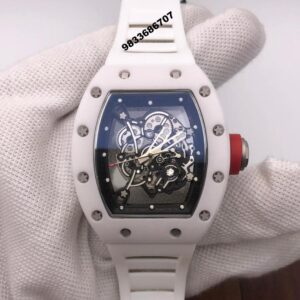 Richard Mille RM 055 White Swiss ETA Automatic Watch