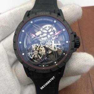 Roger Dubuis Excalibur Spider Skeleton Flying Tourbillon Swiss  Automatic Men's Watch