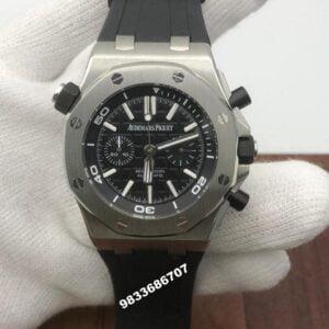 Audemars Piguet Royal Oak Offshore Diver Black Dial Swiss Automatic Men's Watch