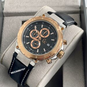 G C Bold Sport Chronograph Black Dial Men's Watch