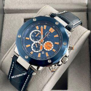 G C Spirit Chronograph Blue Dial Men's Watch
