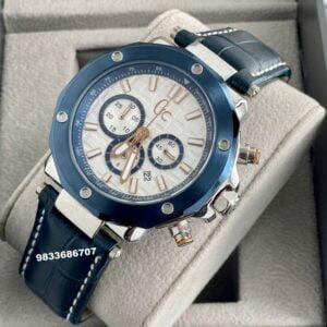 G C Spirit Chronograph White Dial Men's Watch