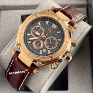 G C Sport Chronograph Black Dial Men's Watch